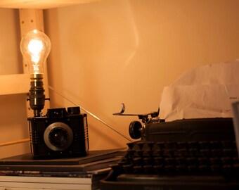 Ilford Envoy Vintage Camera Lamp