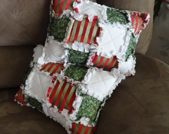 Holiday Throw Pillow Etsy