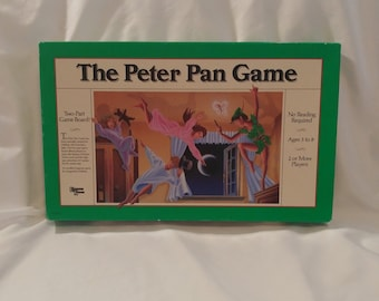 1980s University Games The Peter Pan Board Game