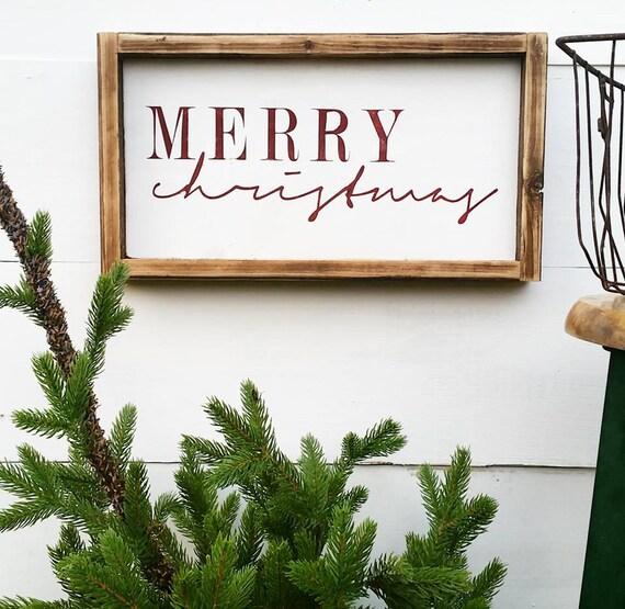 Farmhouse Christmas Decor Rustic Holiday Cottage Holiday