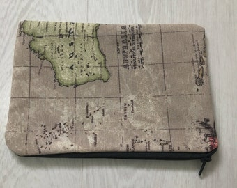 Atlas Pencil Case or Makeup Bag