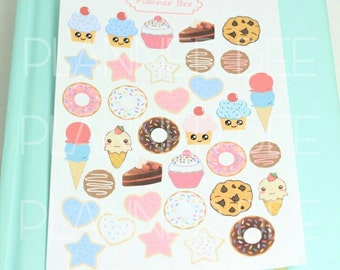 Sweets Bakery Cookies 023 - Planner Stickers