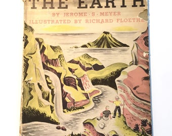 "1949 First Edition ""Picture Book of the Earth"" Illustrated Hardback"