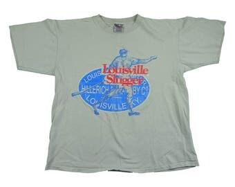 Louisville slugger etsy for Louisville t shirt printing