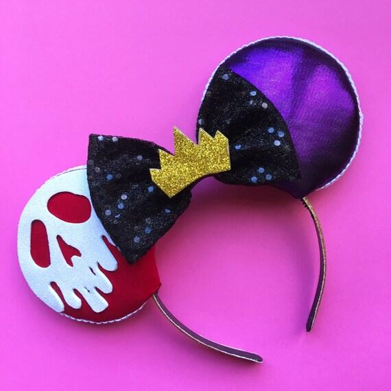 Evil Queen Mouse Ears Disney Villian Inspired Ears SleepingDisney Evil Queen Ears