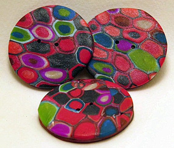 Buttons large round buttons jewel hexagon buttons for Decorative buttons for crafts