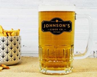 Personalised Cider Company Cider Mug