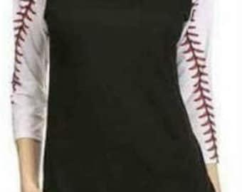 Baseball Sleeve Raglan T-Shirt