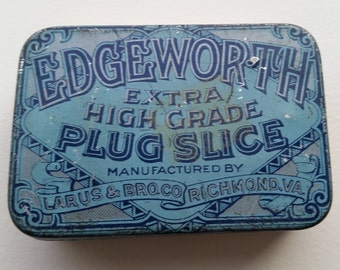 Edgeworth Extra High Grade Plug Slice Tobacco Tin