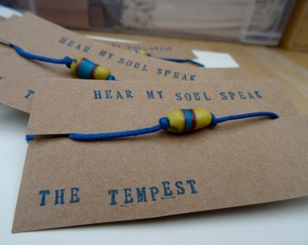 Bracelet / Wish Bracelet / Bead Bracelet / Tribal Bracelet / Vintage African Bead / Bracelet for boy / Unisex Bracelet / Bohemian Bracelet