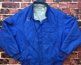 80s Swingster Jacket Vintage Nylon Jacket Mens Size Large Vintage Windbreaker 1980s Swingster 80s Jacket Retro Jacket
