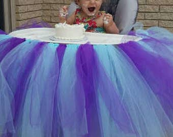 Highchair tutu - Any combination of colors