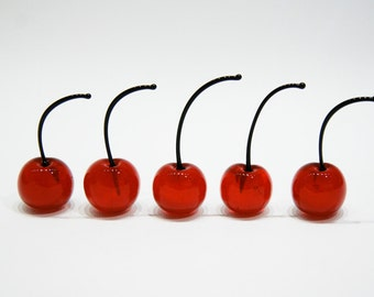 Cherry's murano glass n. 5 pz.