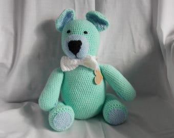 Lovely Huggable Crochet Bear