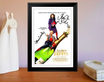 Absolutely Fabulous 2016 - Cast Autographed Movie Photo Print Poster