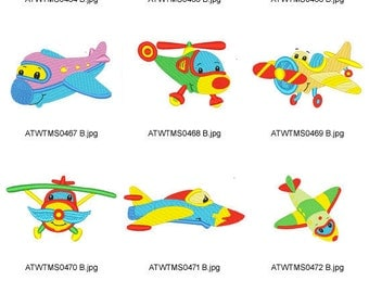 Fly-With-Me ( 10 Machine Embroidery Designs from ATW ) XYZ17C