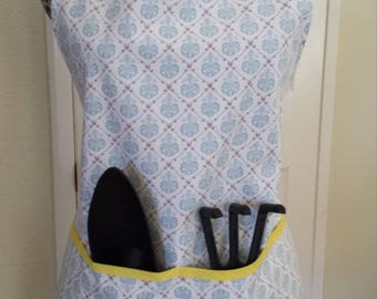 Garden Apron With 4 Deep Pockets Gift Set