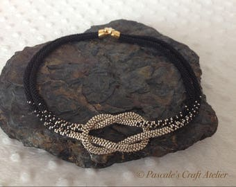 Elegant Kumihimo Love Knot Necklace