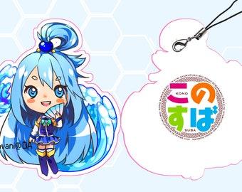 Konosuba-Aqua Keychain