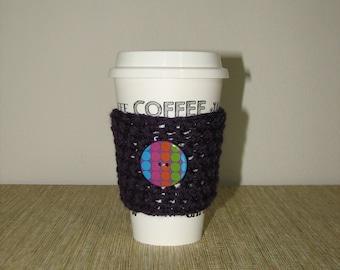Coffee cup cozy, cup cozy, coffee cozy, cup sleeve, coffee sleeve, coffee cup sleeve, crochet cup sleeve, coffee lover gift,stocking stuffer