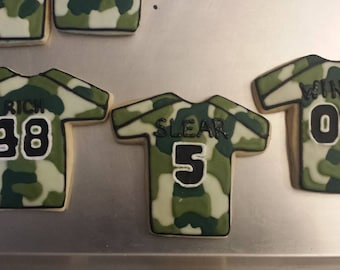 Personalized Water Polo Ball Cookies - sold by the dozen