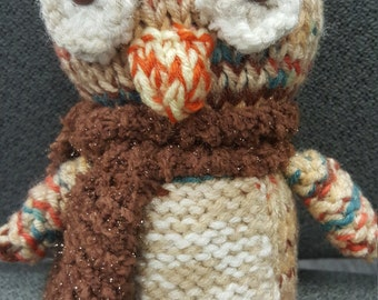 Fall Knit Owl
