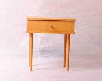Bedside table vintage/retro modernist/years 50/SCANDINAVIAN/table night/bedside.
