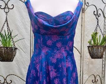 Handmade Bespoke Satin Dress