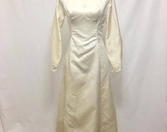 Vintage 1960s Edythe Vincent for Alfred Angelo Wedding Gown