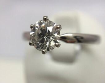 18ct Diamond Solitaire.