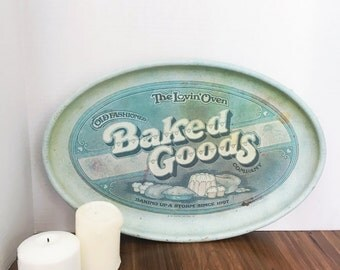 Vintage The Lovin Oven Baked Goods Tray