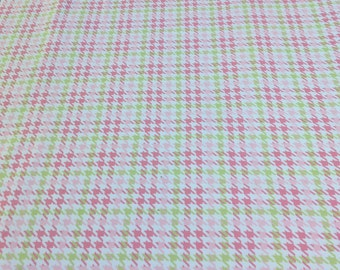 Cozy Cotton-Pink Plaid Cotton Flannel Fabric from Robert Kaufman