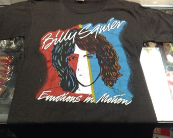Billy Squier - Vintage T-shirt / Emotions In Motion