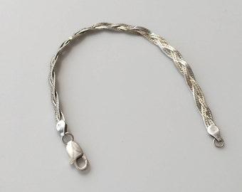 Delicate Silver Bracelet, Sterling Silver Bracelet, Dainty silver Bracelet, Silver bracelet, Everyday jewelry, 925 silver bracelet,