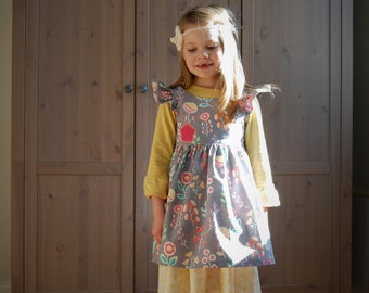 Sunny Days Dress and Pinafore