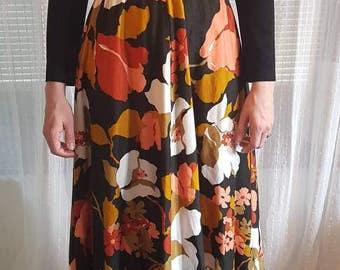 RICKI REED maxi dress 1960s