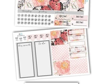 May Monthly Planner Kit Planner Stickers/ECLP May Monthly Kit Planner Stickers