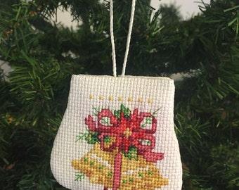 Christmas Bells Mitten Ornament