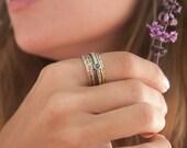Meditation Ring * Spinner Ring * Spinning Ring * Anxiety Ring * Worry Ring * Boho Ring * Spin Ring * Statement Ring BJS015