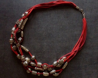 Necklace multi strand #540