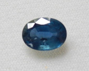 Sapphire, 3.75 Ct., Faceted Oval, Thailand
