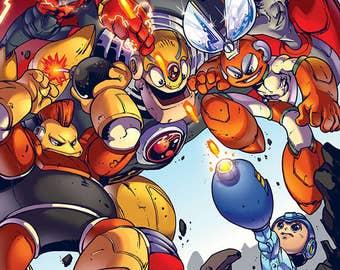 Mega Man 1 Print + Optional PRO Edition