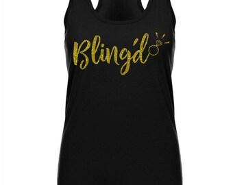 Engaged Shirt, Engaged Tank, Bachelorette Tank, Bachelorette Shirt, Bachelorette Party, Bridal Shower Gift, Engagement Gift, Bridal Tank