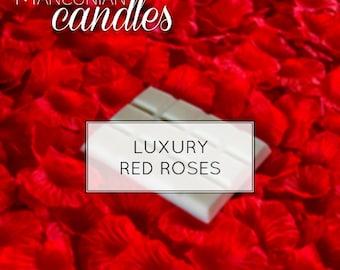 LUXURY RED ROSES- Wax Melt Bar