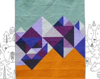 Mountain Baby - PDF Quilt Pattern