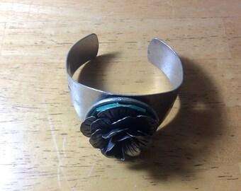 Metal Rose Bracelet