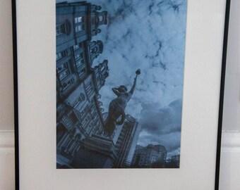 Leeds city photography / Leeds photo / Leeds photography / Leeds art print / Leeds print / Home decor / Wall art