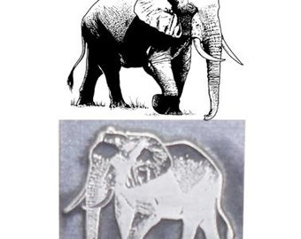elephant stamp,inspired printing stamp