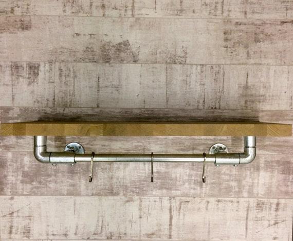 Eiken leidingen plank industri le rekken boekenkast plank - Plank keuken opslag ...