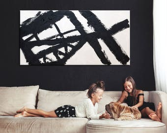 Black & White, Black and white Art, Abstract Painting, Art painting, Abstract Decor Painting, Abstract Wall Painting, Oil Painting, Painting